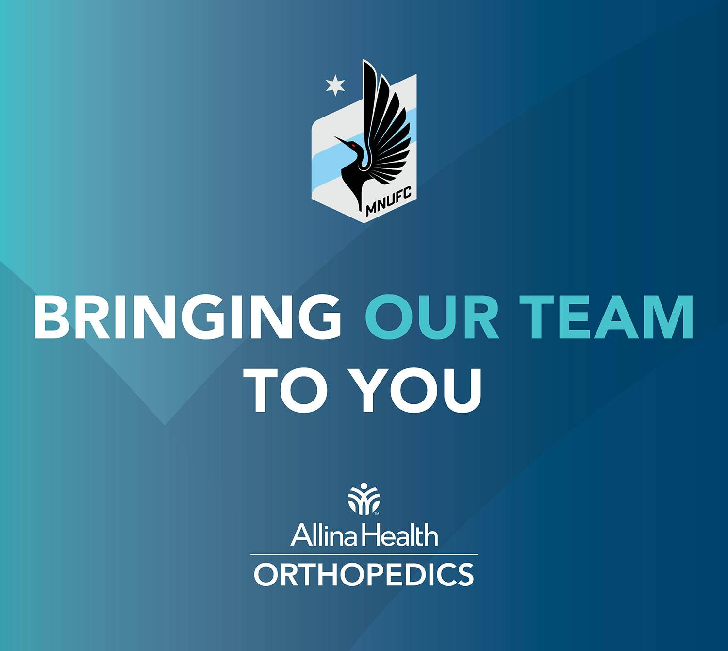 Official orthopedic partner of MNUFC